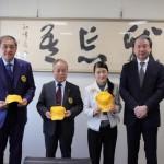 黄色い帽子贈呈式